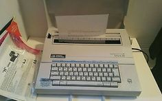 Smith Corona Electric Typewriter Model 5A Mark XI Spell Right Dictionary