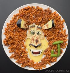 ALEX THE LION from MADAGASCAR Spaghetti bolognese by JACOB'S FOOD DIARIES (@jacobs_food_diaries)