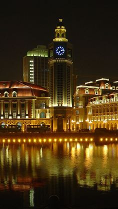 Jinwan Plaza on The Haihe River ~ Tianjin, China