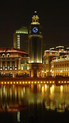 Jinwan Plaza on The Haihe River ~ Tianjin, China