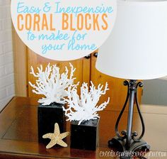 Coral Decor With A Little Diy