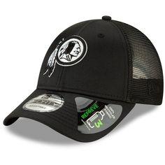 fa5a877d Men's Washington Redskins New Era Black Repreve Trucker 9FORTY Snapback  Adjustable Hat, Your Price: $23.99