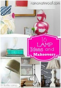 Lamp Makeover Ideas