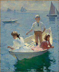 Frank Weston 1865-1951, Calm Morning, 1904