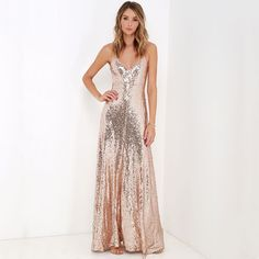 Summer party dresses women new fashion sequins emboridery strap long dress  sexy backless maxi A line a7bfe92cdac4