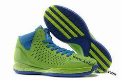 8db122278722 Adidas Adizero Rose 3.0 Derrick Rose Shoes Green Blue Fresh Prince