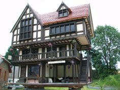 Bespoke Handmade Collectors Tudor Dolls House