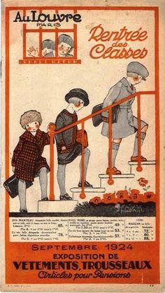Rentrée des classes 1924