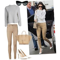 A fashion look from February 2015 featuring Acne Studios sweaters, Vero Moda leggings and Gianvito Rossi pumps. Browse and shop related looks.