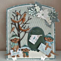 Marianne Design Cards, Christmas Cards, Xmas, Christmas Ideas, Baby Cards, Making Ideas, Cardmaking, Garland, Banners