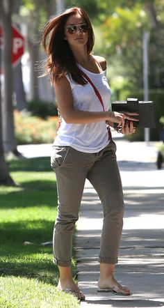 Minka Kelly very relaxed