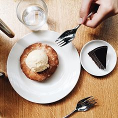 Dessert at Tramshed in London // @lightruststudio