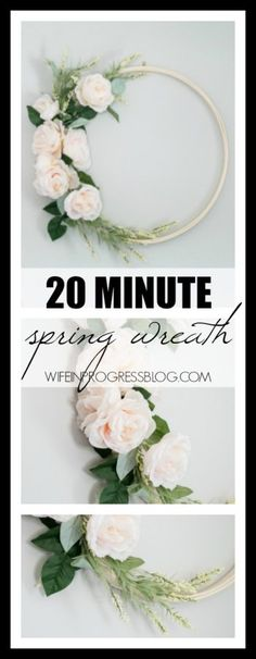 Spring wreath ideas | spring home decor | DIY spring wreaths