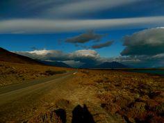 sky above Patagonia