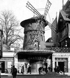 photo Moulin Rouge en 1900