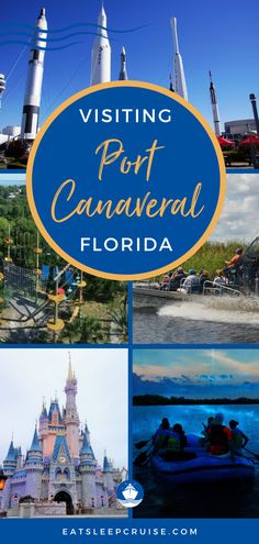 Are you planning a visit to Florida's Space Coast as part of a cruise vacation or other travel? If so, you may be wondering what to do near the cruise terminal. Here we share 8 fun things to do near Port Canaveral Florida. Besides the beautiful Florida beaches, there are many excursions from this cruise port, including Disney World! Check out this post to make the most of your time in port or plan extra time around your cruise. #PortCanaveral #Florida #FloridaVacation #CruiseVacation… Bermuda Vacations, Bahamas Vacation, Bahamas Cruise, Cruise Port, Cruise Vacation, Cruise Excursions, Cruise Destinations, Shore Excursions, Florida Travel