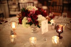 Your Event by Erin - Reds, purple, white and green