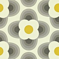 orla kiely behang striped petal