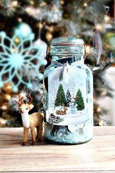 Mason Jar filled - Christmas gift idea in a mason jar
