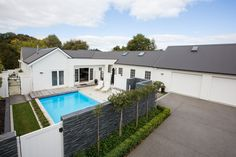 This renovation for a professional family took place on the banks of the Waikato River in central Hamilton. The existing 1940/50's bungalow was run down & in dire need of attention. The generous site was long and sloping with eastern river views.  The site allowed us many opportunities and great freedom to maximize the clients brief.  The outcome – a crisp and sophisticated home perfectly suited to our 21st lifestyles!  Click on the photo to view the full project portfolio on the LAD…