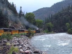 Durango, CO - I rode this same train with my parents and grandparents for my parents 25th anniversary! Breathtaking views!
