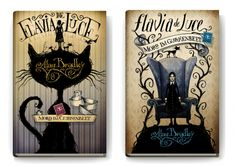 Flavia de Luce, Why can't our covers look like this? Love them!