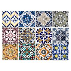Amazon.de: Dekorative Stickerfliesen Mit Tollen Motiven Und Ornamenten Für  Wände Und Fliesen |