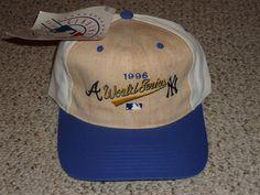 1996 WORLD SERIES BASEBALL HAT CAP - ATLANTA BRAVES vs NEW YORK YANKEES - NWT! #TwinsEnterprise