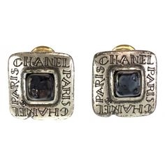 Chanel Earrings, Cufflinks, Rings For Men, Silver, Accessories, Jewelry, Women, Products, Fashion