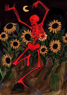 art by Anastasia Rydlevskaya @arydlevskaya_art https://www.instagram.com/arydlevskaya_art/   #halloween #spooky #skeleton #red #dance #art #illustration Collage, Dance Art, Obsessed Girlfriend, Aesthetic Art, Artsy Fartsy, Art Hoe, Psychedelic Art, Trippy, Anastasia