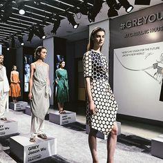 極簡控和灰色控一定會愛 @jasonwu @cadillac @pantone #GREYOUT #JASONWU #GREYJASONWU #newyork #nyfw #ellefashionweek18ss  via ELLE TAIWAN MAGAZINE OFFICIAL INSTAGRAM - Fashion Campaigns  Haute Couture  Advertising  Editorial Photography  Magazine Cover Designs  Supermodels  Runway Models