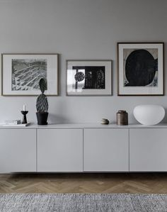 Sideboard wall color beige light gray old building apartment Scandinavian modern minimalist . Sideboard wall color beige light gray old building apartment Scandinavian modern minimalistic simpl Home Living Room, Living Room Furniture, Interior, Home, Living Room Decor, House Interior, Interior Design, Home And Living, Sideboard Designs