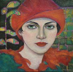 Art by AliceRudolf Abstract Portrait, Portrait Art, Figure Painting, Painting & Drawing, Sandbox, Figurative Art, Art Images, New Art, Alice