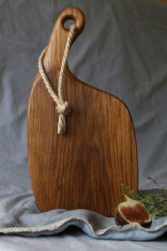 Купить Доска разделочная - коричневый, разделочная доска, разделочные доски, дерево дуб, дуб, кухня