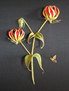 Gold Work Embroidery Patterns | Modern Jacobean Embroidery Kits – Modern Jacobean, Hand