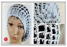 Three Step Stitch Slouchy Loom Knit Hat FREE Pattern