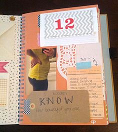 Smash book for your baby book! So fun!