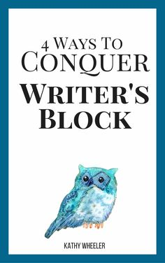 Is writer's block ever a problem for you? It is for me, and I'm an author  and book coach. Here are five methods I use for conquering my own writer's  block that you can use too.  1. Stop Being Your Own Worst Critic  You know that you are your own worst critic. Sometimes it is good to be  rem