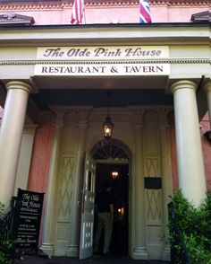 We worked up a good appetite exploring the city and it's history, then headed to the most highly recommended restaurant in all of Savannah, The Olde Pink House. Guys, this place lives up to the hype.