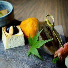 to Evoke fall by @nakaseattle #kaiseki #thejapanesecuisine #chefshota #instafood #foodporn #fall #kabocha #duck #eggplants #japanesefood by thejapanesecuisine