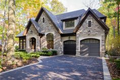 Stone Home Exterior Ideas | David Small Designs - Stone Cottage III | Home Inspiration