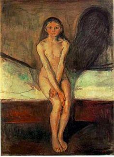 Pubertad (1895), Edvard Munch