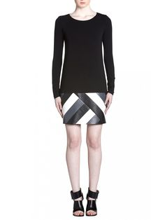 BAILEY 44 Digital Divide Dress | Long Sleeve, Eco Leather