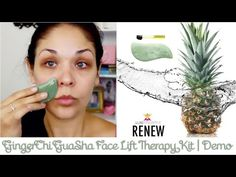 GingerChi Gua Sha Face Lift Therapy Kit {Review & Demo} - YouTube