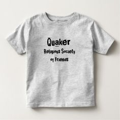 Grey T Quaker RSoF Toddler T-shirt - diy cyo customize create your own personalize