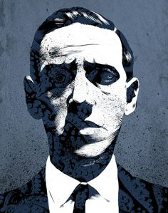 Portrait of H. Lovecraft by chriskoehler on deviantART Call Of Cthulhu Rpg, Hp Lovecraft, Art And Illustration, Spirit Animal, Graphic Prints, Illustrators, Art Drawings, Horror, Art Gallery