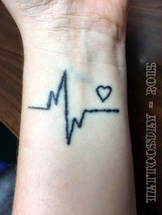 Tattoosday (A Tattoo Blog): Laura and Her Heart that Doesn't Stop Beating  http://tattoosday.blogspot.com/2015/05/laura-and-her-heart-that-doesnt-stop.html