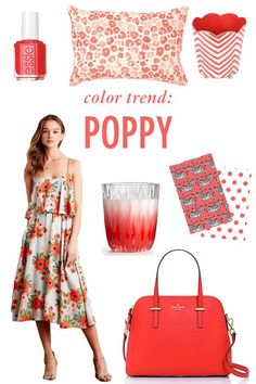 Color Trend: Poppy // Twin Stripe