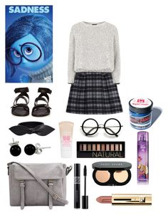 """""""Sadness"""" by mortyloverforever ❤ liked on Polyvore featuring Thakoon Addition, Topshop, rag & bone, Yves Saint Laurent, Maybelline, Bling Jewelry, Manic Panic, Forever 21 and Bobbi Brown Cosmetics"""