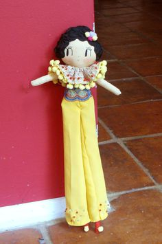 Reserved. Oneofakind handmade doll by CuriousPip on Etsy